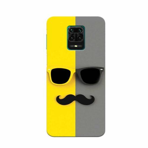 Redmi Note 9 Pro Back Cover Beard Man