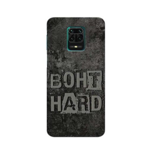Redmi Note 9 Pro Back Cover Bohat Hard