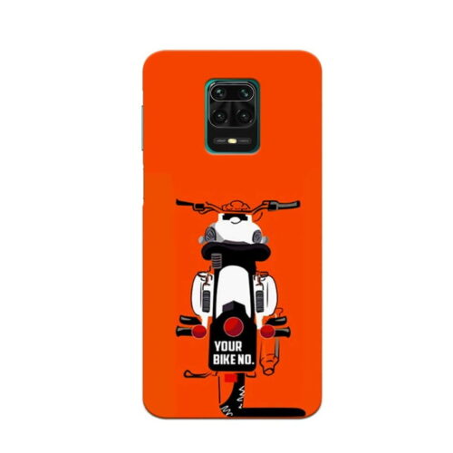 Redmi Note 9 Pro Back Cover Bullet