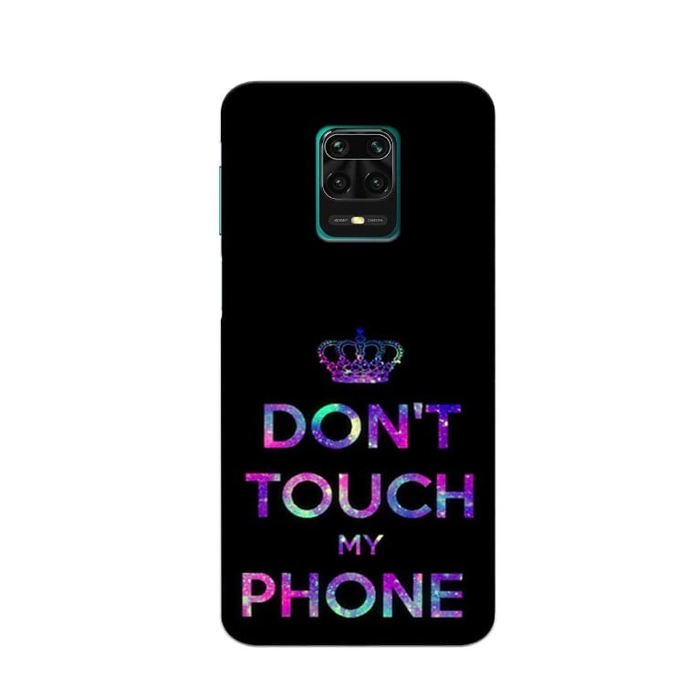 Redmi Note 9 Pro Back Cover Do Not Touch