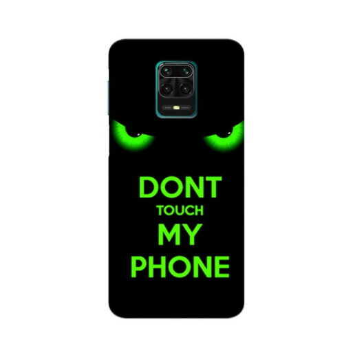 Redmi Note 9 Pro Back Cover Dont Touch My Phone