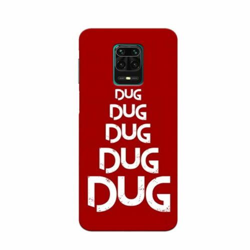 Redmi Note 9 Pro Back Cover Dug Dug 1