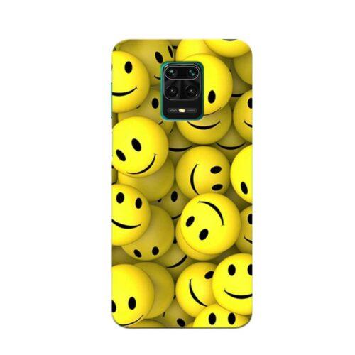 Redmi Note 9 Pro Back Cover Emoji