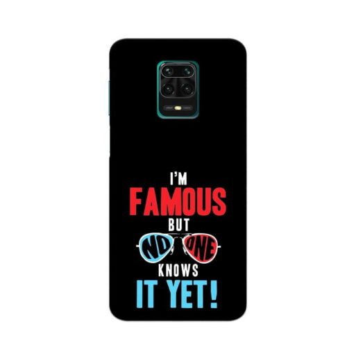 Redmi Note 9 Pro Back Cover Famous 1