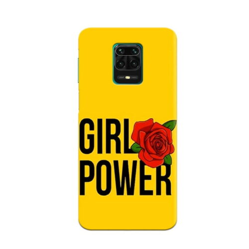 Redmi Note 9 Pro Back Cover Girl Power
