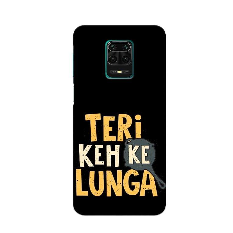 Redmi Note 9 Pro Back Cover Keh Kar Lunga