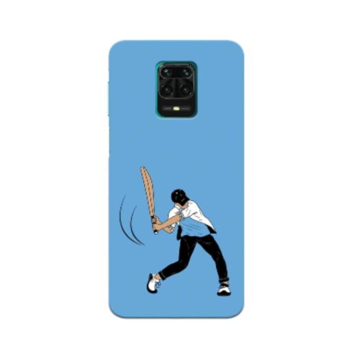Redmi Note 9 Pro Back Cover Lets Play Cricket