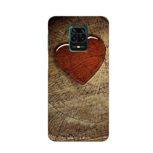 Redmi Note 9 Pro Back Cover Love Heart