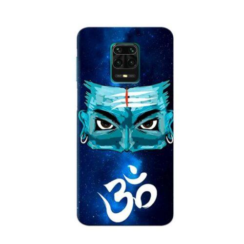 Redmi Note 9 Pro Back Cover Mahadev Om