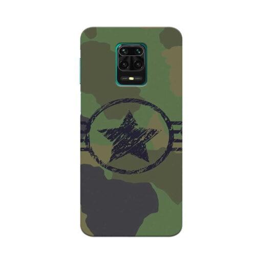 Redmi Note 9 Pro Back Cover Military America