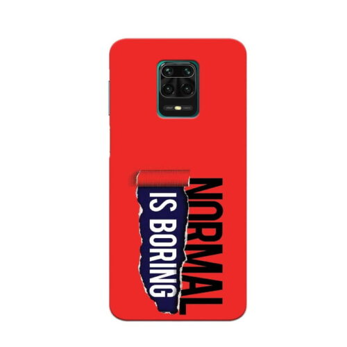 Redmi Note 9 Pro Back Cover Normal Is Bowring