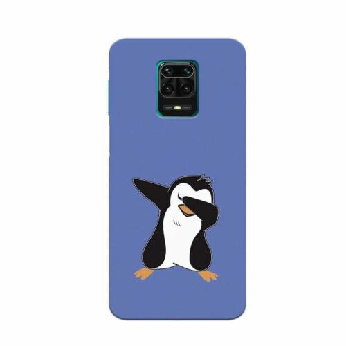 Redmi Note 9 Pro Back Cover Panda 1