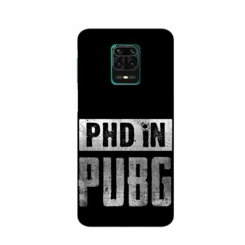 Redmi Note 9 Pro Back Cover Phd In Pubg
