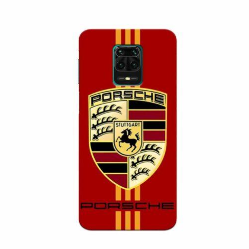 Redmi Note 9 Pro Back Cover Porsche