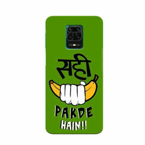 Redmi Note 9 Pro Back Cover Sahi Pakde Hai 1