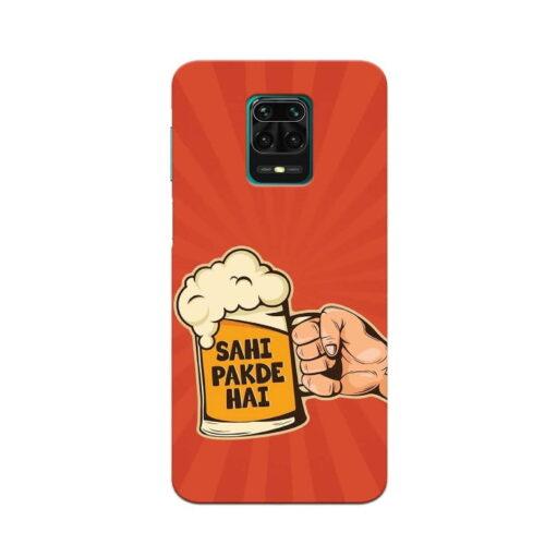 Redmi Note 9 Pro Back Cover Sahi Pakde Hai Ye
