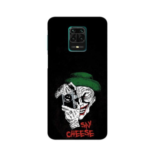 Redmi Note 9 Pro Back Cover Say Chees
