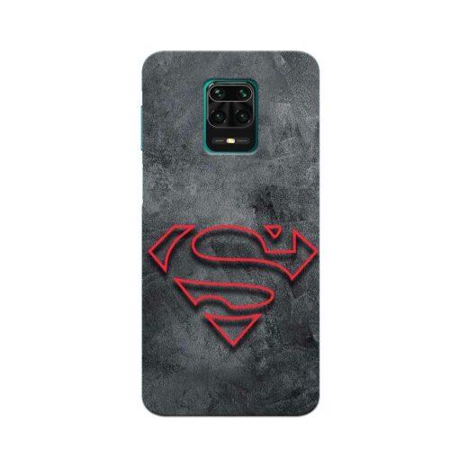 Redmi Note 9 Pro Back Cover Super Man