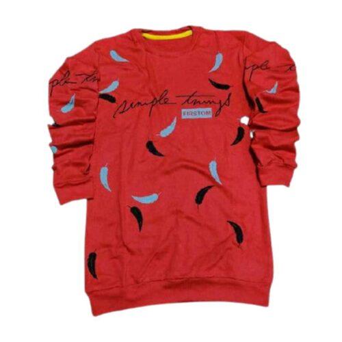 Tshirt Men Red Gold Rush