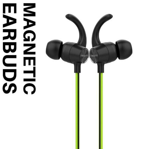 Boltt Fire Boltt Echo 1100 Neckband in Ear Bluetooth 5 0 Earphone Hearable with Incredible Sound Google Siri Assistance Adjustable Neckband Magnetic Earbuds Green 1