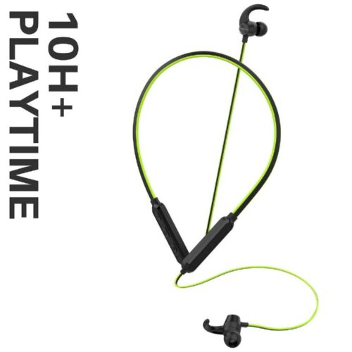 Boltt Fire Boltt Echo 1100 Neckband in Ear Bluetooth 5 0 Earphone Hearable with Incredible Sound Google Siri Assistance Adjustable Neckband Magnetic Earbuds Green 5