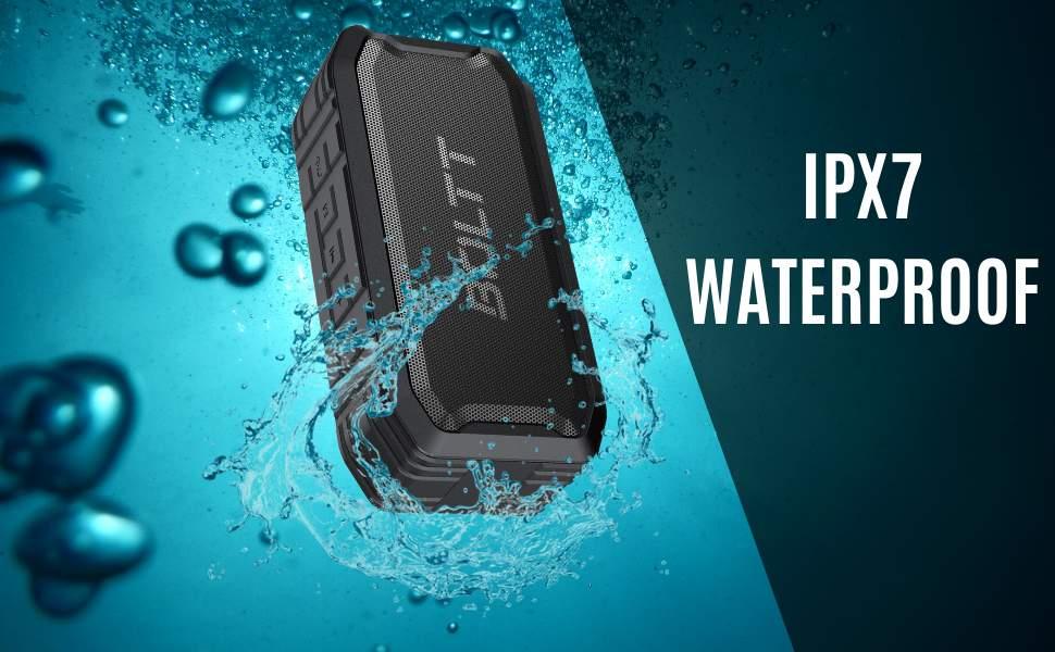 Boltt Fire Boltt Xplode 1500 Portable Bluetooth Outdoor Speaker IPX7 Waterproof Weatherproof with Enhanced Bass Black 2