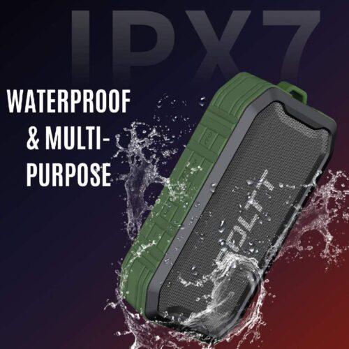 Boltt Fire Boltt Xplode 1500 Portable Bluetooth Outdoor Speaker IPX7 Waterproof Weatherproof with Enhanced Bass Green 10