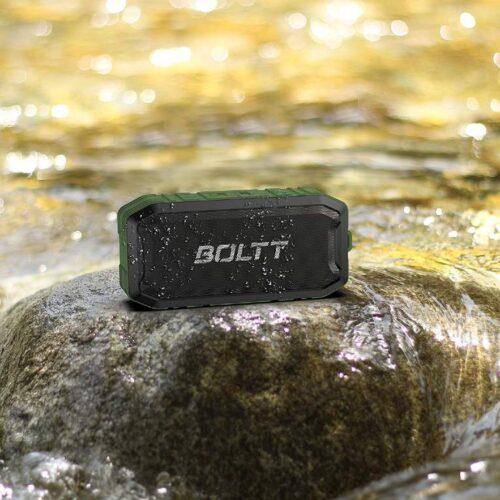 Boltt Fire Boltt Xplode 1500 Portable Bluetooth Outdoor Speaker IPX7 Waterproof Weatherproof with Enhanced Bass Green 12