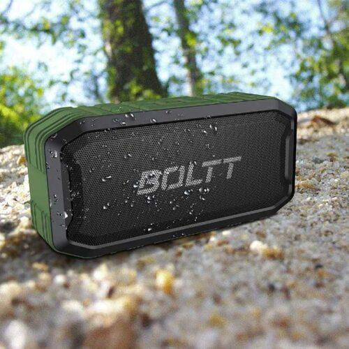 Boltt Fire Boltt Xplode 1500 Portable Bluetooth Outdoor Speaker IPX7 Waterproof Weatherproof with Enhanced Bass Green 14
