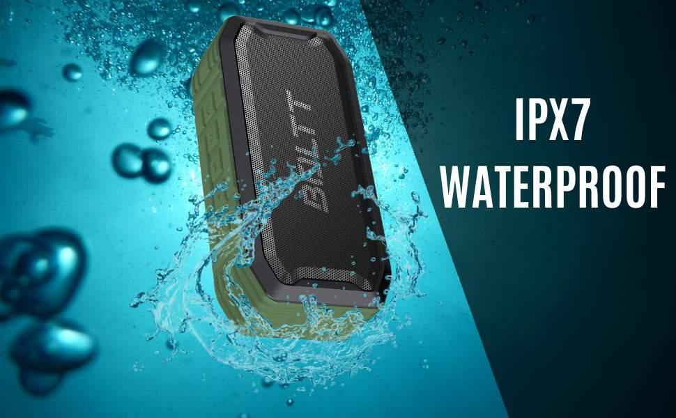 Boltt Fire Boltt Xplode 1500 Portable Bluetooth Outdoor Speaker IPX7 Waterproof Weatherproof with Enhanced Bass Green 2