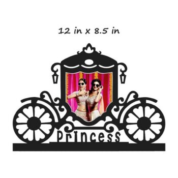 Customized Royal Princess Photo Frame - 12 In x 8.5 In