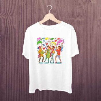 Family Group Holi Tshirt