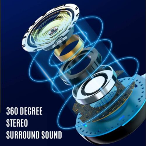 Fire Boltt BGH1000 Wired Headset Gaming Headphones with Microphone Light Surround Sound Bass Earphones for PS4 Xbox 1 Professional Gamer PC Laptop 3