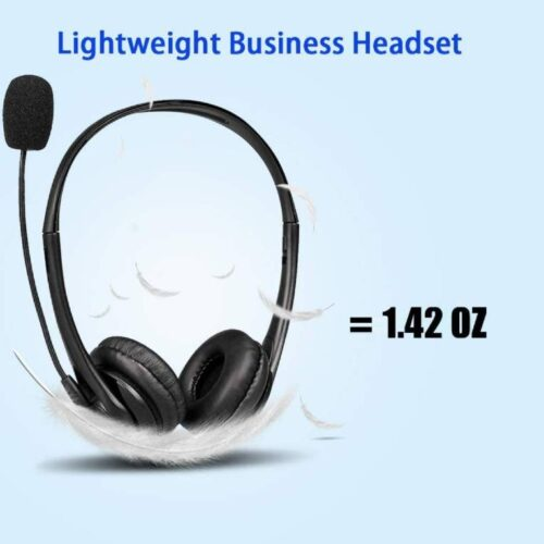 Fire Boltt BWH1000 Stereo Headphones with Noise Cancelling Microphone3 5 mm Dual Audio Jack PC Mac Laptop 5