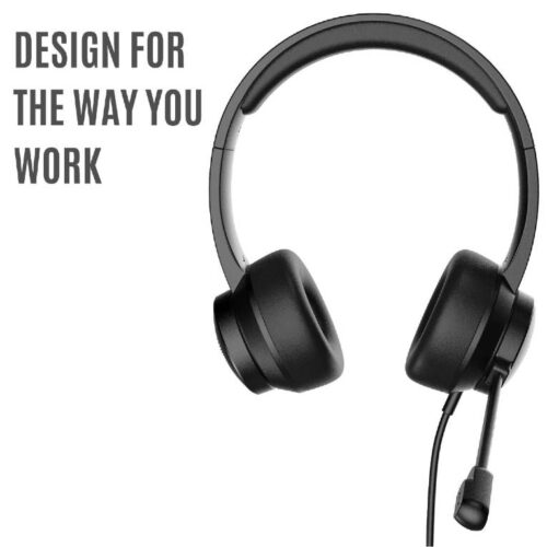 Fire Boltt BWH1200 Stereo Headphones with Noise Cancelling Microphone3 5 mm Dual Audio Jack PC Mac Laptop 3