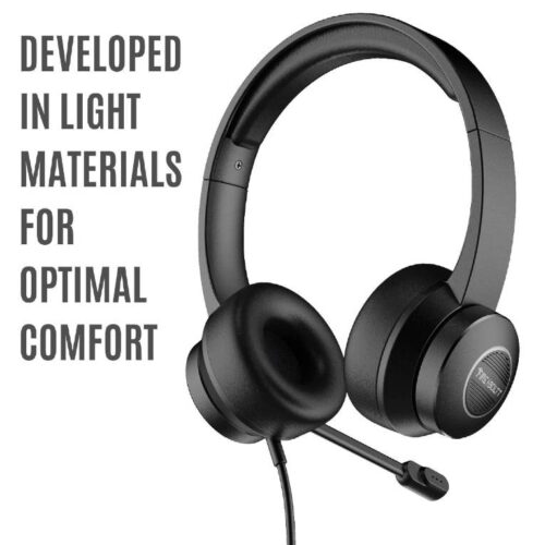 Fire Boltt BWH1200 Stereo Headphones with Noise Cancelling Microphone3 5 mm Dual Audio Jack PC Mac Laptop 5