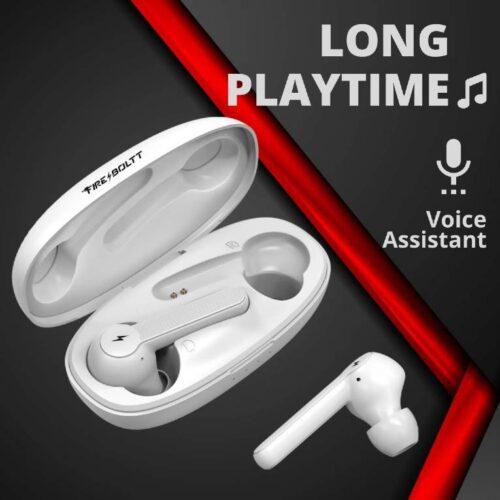 Fire Boltt Buds 1200 True Wireless Earbuds Auto Noise Cancellation BT5 12