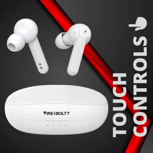 Fire Boltt Buds 1200 True Wireless Earbuds Auto Noise Cancellation BT5 16