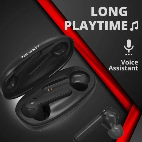 Fire Boltt Buds 1200 True Wireless Earbuds Auto Noise Cancellation BT5 3