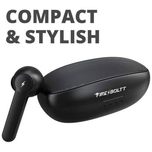Fire Boltt Buds 1200 True Wireless Earbuds Auto Noise Cancellation BT5 8
