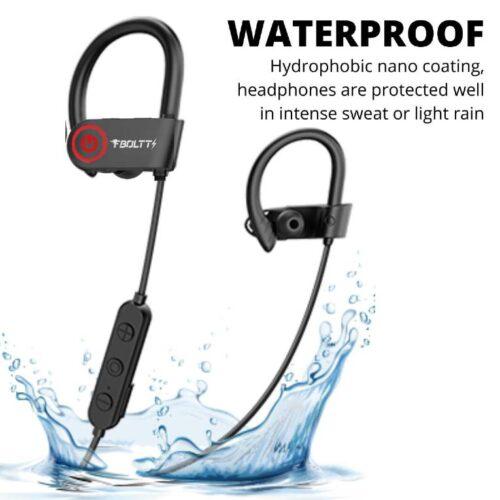 Fire Boltt Echo 1300 Bluetooth Earphone Wireless Neckband in Ear Headset with HD Calling Rich Bass Black 4
