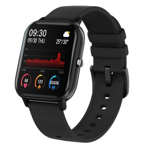 Fire Boltt Full Touch Smart Watch with SPO2 Heart Rate BP Fitness and Sports Tracking 14 inch high Resolution Display 1