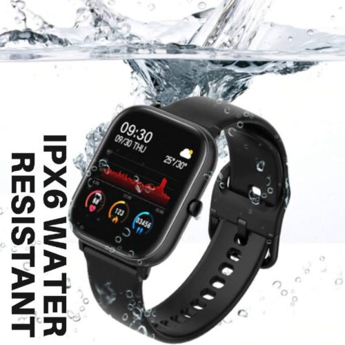 Fire Boltt Full Touch Smart Watch with SPO2 Heart Rate BP Fitness and Sports Tracking 14 inch high Resolution Display 5