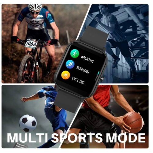 Fire Boltt Full Touch Smart Watch with SPO2 Heart Rate BP Fitness and Sports Tracking 14 inch high Resolution Display 7