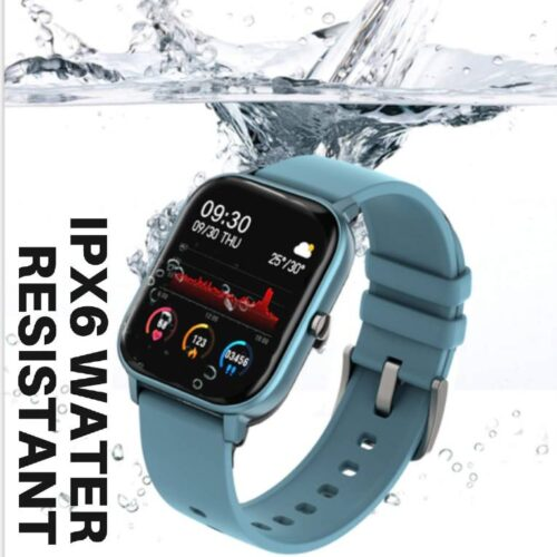 Fire Boltt Full Touch Smart Watch with SPO2 Heart Rate BP Fitness and Sports Tracking 14 inch high Resolution Display Blue 4
