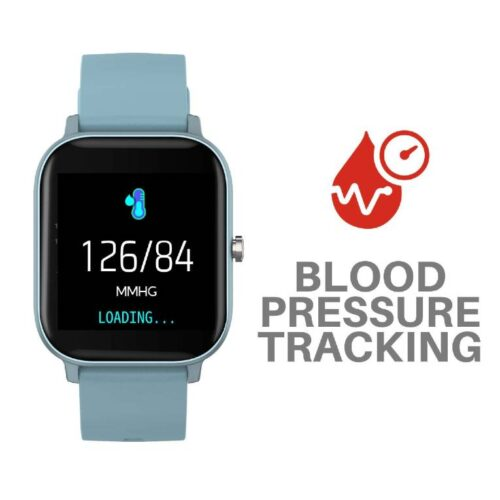 Fire Boltt Full Touch Smart Watch with SPO2 Heart Rate BP Fitness and Sports Tracking 14 inch high Resolution Display Blue 6