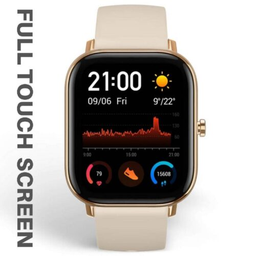 Fire Boltt Full Touch Smart Watch with SPO2 Heart Rate BP Fitness and Sports Tracking 14 inch high Resolution Display Gold 1