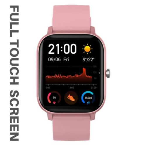 Fire Boltt Full Touch Smart Watch with SPO2 Heart Rate BP Fitness and Sports Tracking 14 inch high Resolution Display Pink 1
