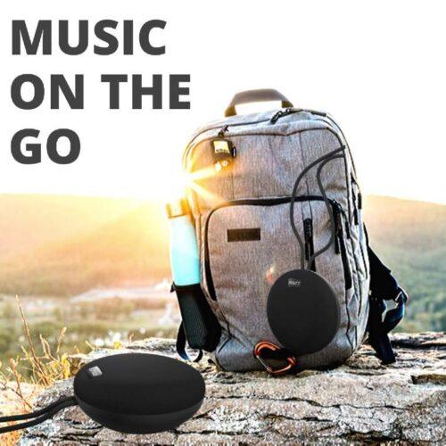 Fire Boltt Xplode 100 Ultra Portable Bluetooth Speaker with 360 HD Surround Sound Deep Explosive Bass IPX7 Waterproof Black 5