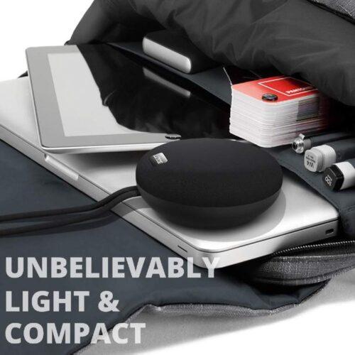 Fire Boltt Xplode 100 Ultra Portable Bluetooth Speaker with 360 HD Surround Sound Deep Explosive Bass IPX7 Waterproof Black 6